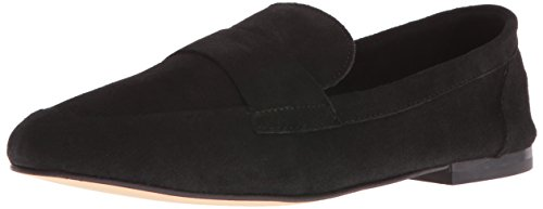 Chinese Laundry Women's Grateful Slip-on Loafer, Black Suede Black Suede