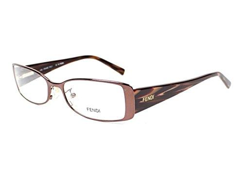 Optical frame Fendi Metal Brown - Red (F603