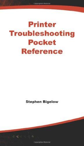 Printer Troubleshooting Pocket (Printer Hardware)