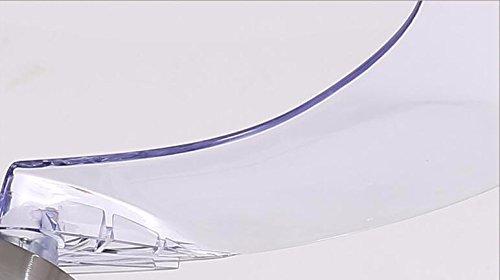 Deckenventilator mit Lampe Schlafzimmer Moderne minimalistische Fan Kronleuchter Led Stealth Fan Licht 42 Zoll Dimmer Beleuchtung Beleuchtung Lampen und Laternen Durchmesser der Wand 36W 110cm Deckenbeleuchtung ZYY