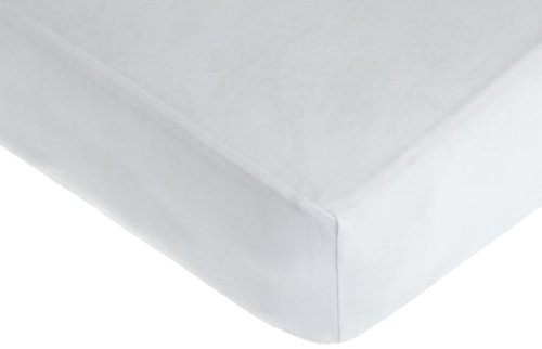 American Baby Company Supreme Jersey Knit Fitted Crib Sheet, White