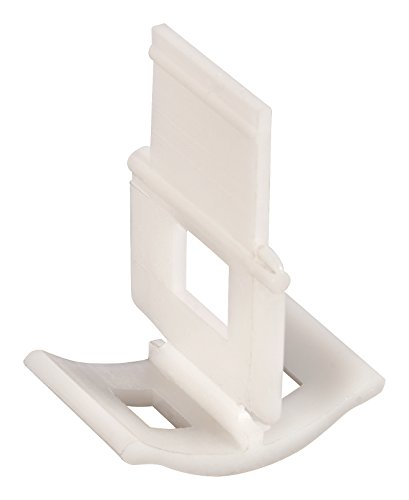 QEP 99722Q LASH Tile Leveling, Aligning and Spacer Clips, Part A, 96-Pack by QEP