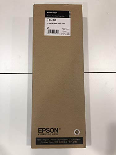 Epson UltraChrome HD Matte Black 700mL Ink Cartridge for SureColor SC P6000/8000/7000/9000 Series Printers