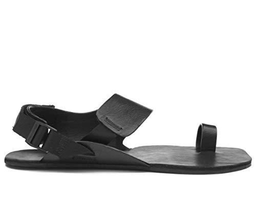 Vivobarefoot Womens Atani Leather Black Sandal