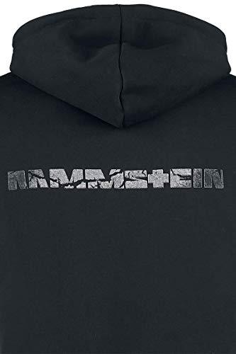 Capucha Logo Sudadera Broken Negro Rammstein Con W1OSnCq