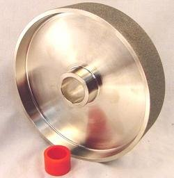 8u0026quot; X 1 1/2u0026quot; X 360 Grit Diamond Lapidary Grinding Polishing Wheel