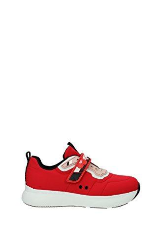 Damen Sneakers Rot Stoff EU 3E6322NEOPRENE5 Prada 0F5SPyqP