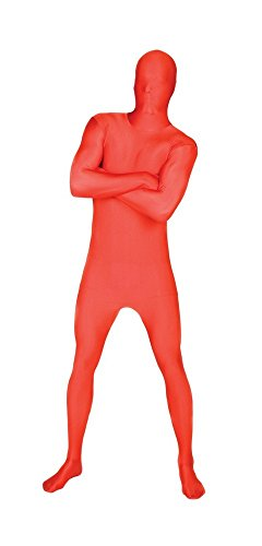 Red Msuit Fancy Dress Costume - size Large - 5'4-5'10 (Red Morphsuit Costumes)