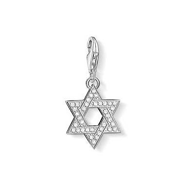 Amazon thomas sabo star of david charm sterling silver jewelry thomas sabo star of david charm sterling silver mozeypictures Choice Image