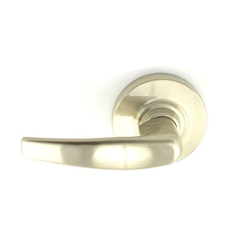 Schlage commercial ND170ATH619 ND Series Grade 1 Cylindrical Lock, Single Dummy Trim, Athens Lever Design, Satin Nickel Finish by Schlage Lock Company
