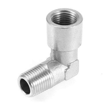 Power Tool Accessories Other Accessories - Stainless Steel 1/8 NPT Connector Paintball 90 Elbow Air Fitting - 1pc x 90 Degree Elbow Fitting Notice: 1. Please allow a bit erro