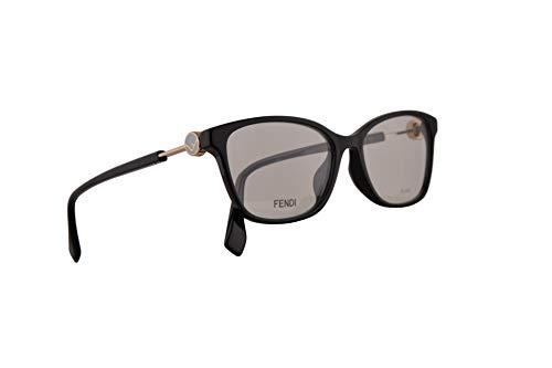 Fendi FF0363/F Eyeglasses 53-16-145 Black w/Demo Clear Lens 807 FF0363 0363 FF 0363/F