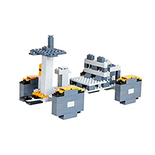 Strictly Briks | NASA Space Transportation System: Moon Rover | Toy Model Ship Building Kits for Future Astronauts - Works with All Major Brands of Bricks - 124 Pieces
