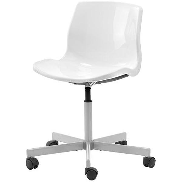 IKEA Snille - Silla giratoria, blanco: Amazon.es: Hogar