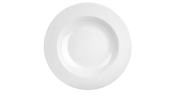 Thunder Group White 16 Oz Melamine Pasta Bowl