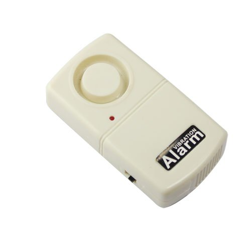 Home Security Battery Powered Vibration Detector Alarm