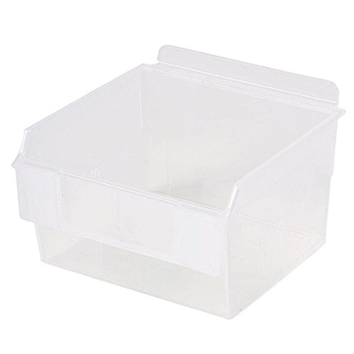Retail Clear Shelfbox Style 100 measures 5.70''d x 5.51''w x 3.74''h by Shelfbox