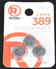 RadioShack Silver-Oxide Button Cell Battery 389 (3-pack) ()