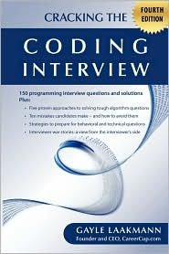 Cracking the Coding Interview 4th (forth) edition Text Only