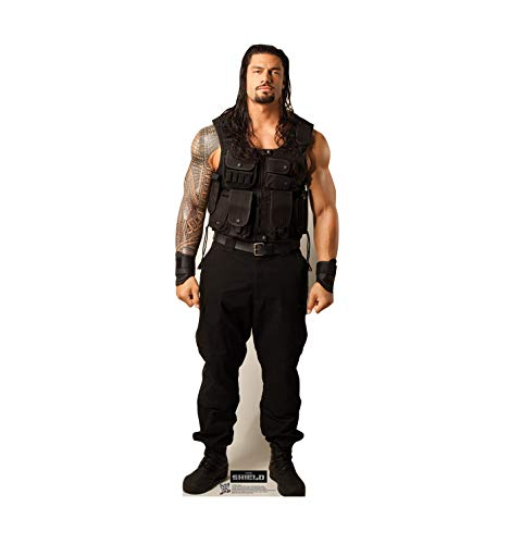 Advanced Graphics Roman Reigns Life Size Cardboard Cutout Standup - WWE