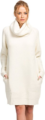 Citizen Cashmere Loose Sweater Dress Women | Cowl Neck Sweater Dresses Women