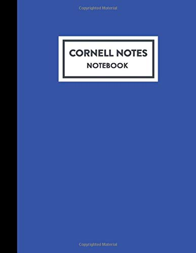 Cornell Notes Notebook: Cornell Note Taking Paper System Notebook: Best for High School, College, University, Student, Teacher, Academic, Scholar - ... of Contents, 8.5x11, 200 Pages (100 Sheets) Royal Papyrus Press