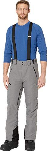Powder Wool Blue (Spyder Men's Bormio Pants Wool Blend Twill/Black Medium)