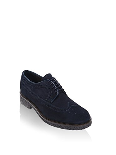 British Passport , Chaussures de ville à lacets pour homme bleu bleu