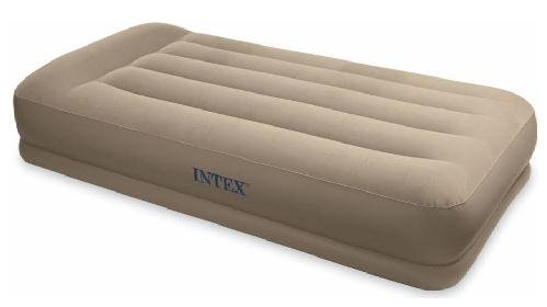 Intex Pillow Rest Mid-Rise Twin Airbed Kit, Outdoor Stuffs