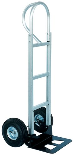 Vestil-APHT-500A-Aluminum-Hand-Truck-with-P-Handle-300-lbs-Load-Capacity-50-12-Height-20-Width-X-19-Depth