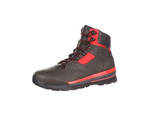 Rotsachtige Outdoor Laarzen Heren Waterdicht S2v Extreem Zwart Rood Rke0036 Steenkool Zwart Rood