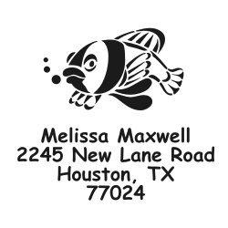 Fish Address Labels - 7