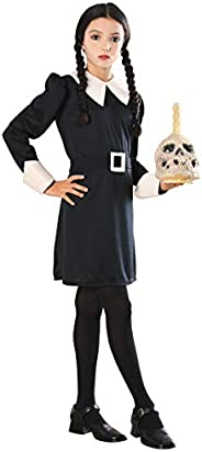 Addams Family Child's Wednesday Addams Costume, Medium, Black/W