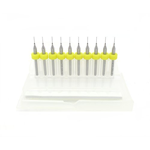 Puuli 20pcs 3D Printer Extruder J-Head Nozzle Drill Cleaner Needle for 0.3mm J-Hand E3d Nozzle