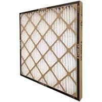 Flanders 80285.02202 12 Piece Vp MERV 8 High-Capacity Extended Surface Pleated Air Filter, 20 by 20 by 2