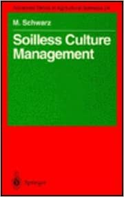 Book Soilless Culture Management (Advanced Series in Agricultural Sciences)