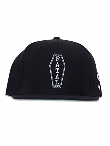 Fatal Men's Pine Box Hat One Size Black (Clothing Fatal Men)