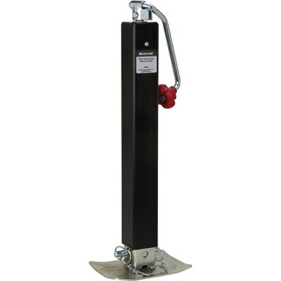 Ultra-Tow Weld-On Top-Wind Trailer Jack - 5,000lb. Lift Capacity ()