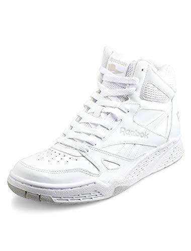 Reebok Men's Royal Bb4500h Xw Fashion Sneaker, White/Steel, 14 4E US