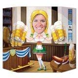 Beistle 57949 Oktoberfest Photo Prop, 3-Feet 1 by 25-Inch