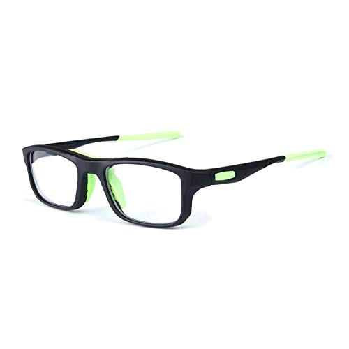 View Rear Mirror Polarized (Aooaz Basketball Training Glasses Anti Shock Myopia Sports Basketball Glasses Green)
