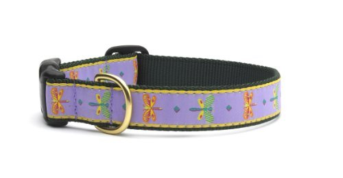 Up Country Dragonfly Dog Collar XS Narrow