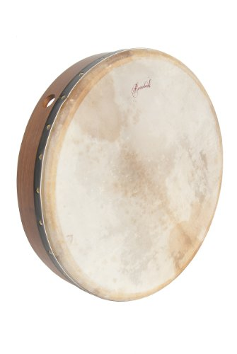 Roosebeck BTGTR Fixed Head/Crossbar Bodhran, 18 x 3.5 Inches by Roosebeck