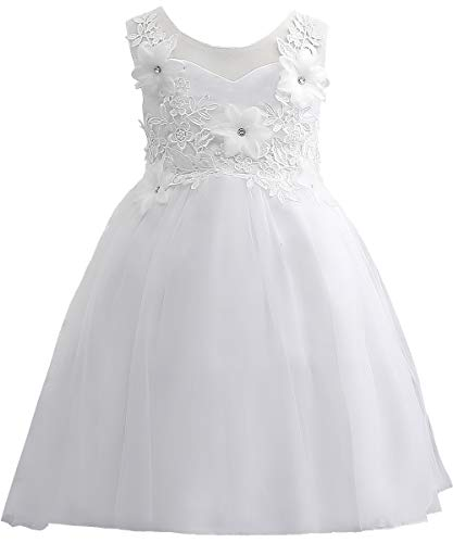 Flower Girl Evening Dresses Cute Kids Lace Pageant