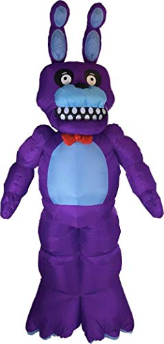 Five Nights At Freddy's Bonnie Inflatable Yard Decoration ()