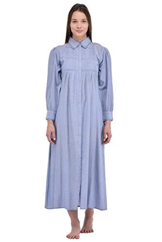 Vintage Vintage Plus CH Camicia N607 Riproduzione Cotton da notte Size Lane nIWqOY