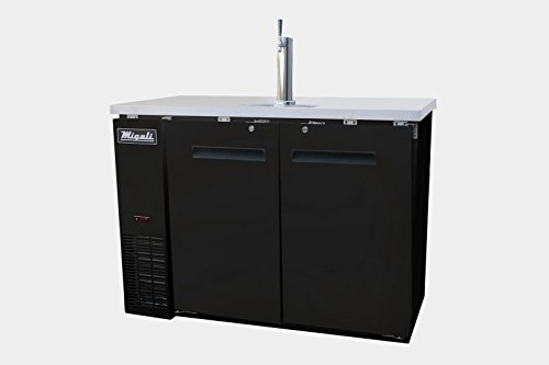 Migali C-DD23-1-HC Competitor Series Direct Draw Beer Cooler, 23.5