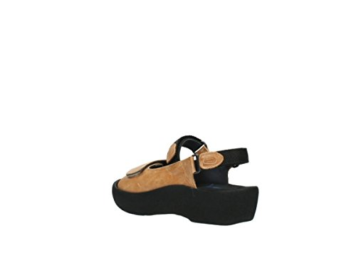 Wolky Womens 3204 Jewel Leather Sandals 340 natural leather