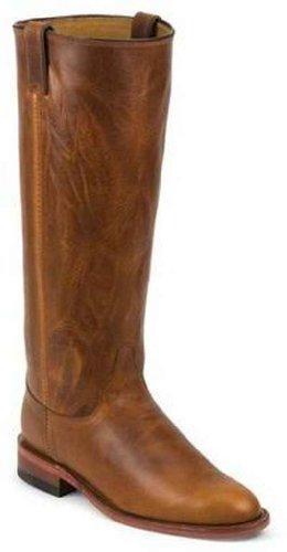 Chippewa Women's Renegade Original Roper Boot Round Toe Tan
