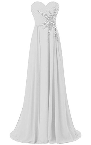 Prom Beaded White Bridal Evening Annie's 2015 Gowns Women's Long Formal Dresses PXqnnpaxtw